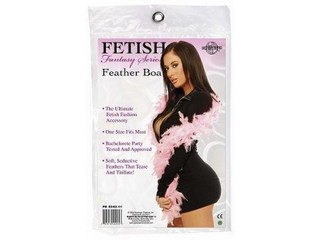 FETISH FEATHER BOÁ - ROSA
